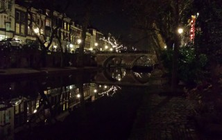 Old Canal near Escape Room Mysterium Utrecht